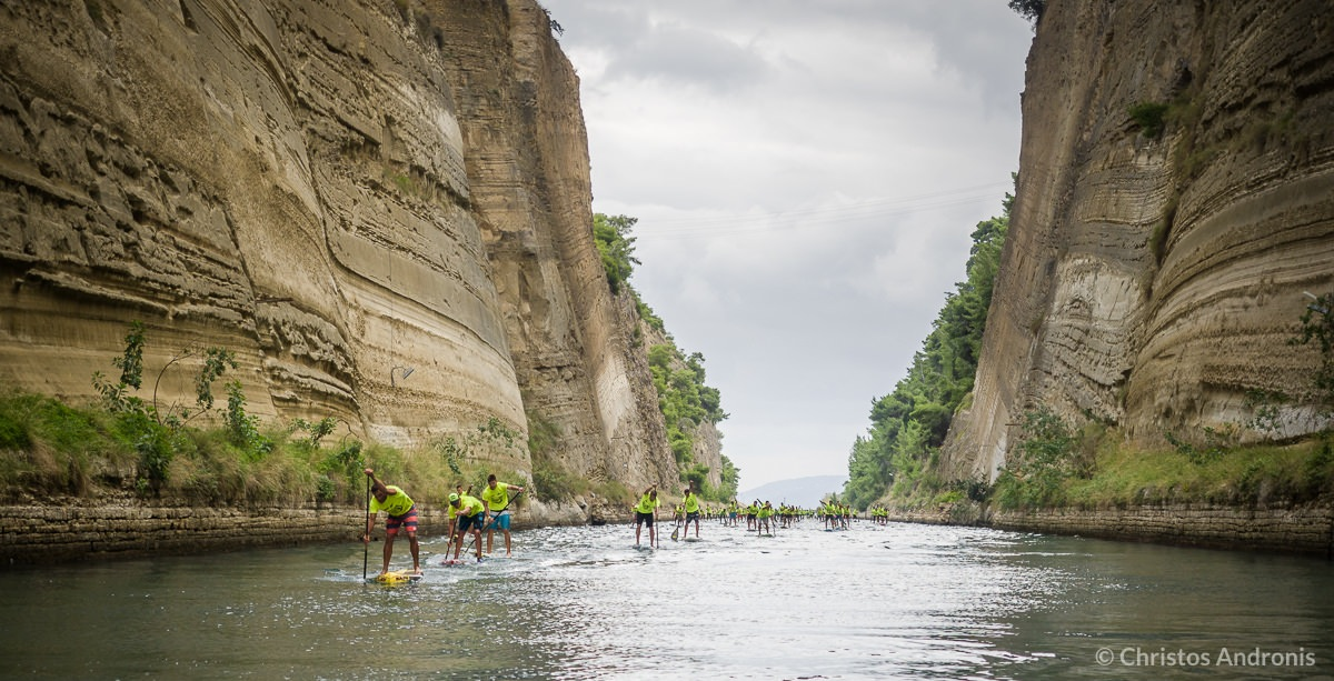 corinth canal sup crossing 2015 4