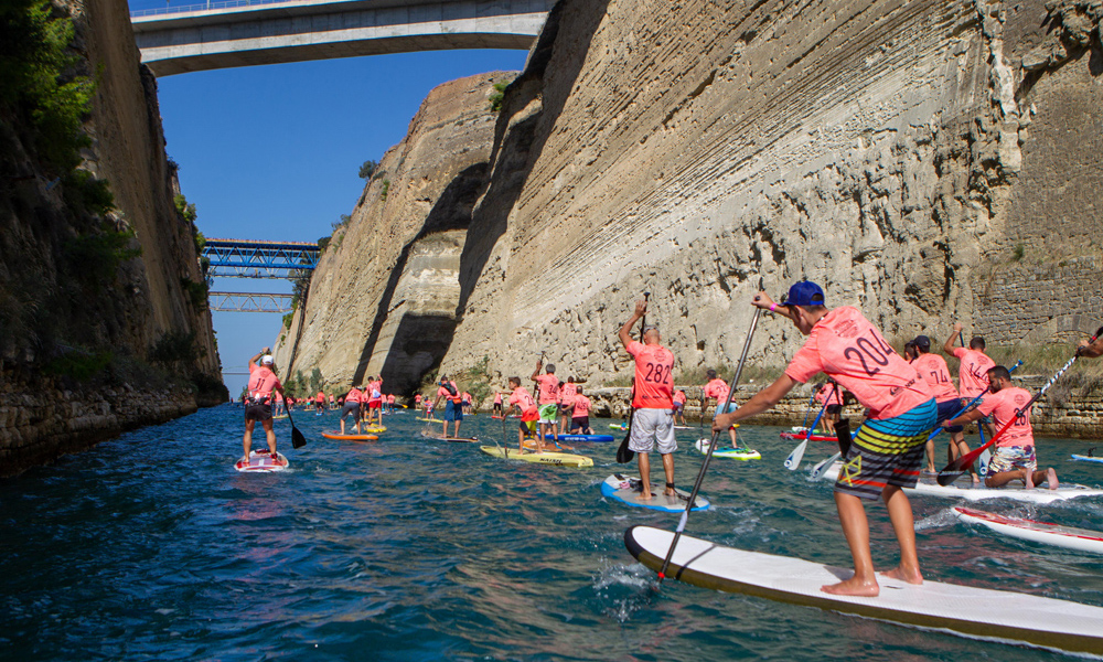 2018 corinth canal sup crossing 1