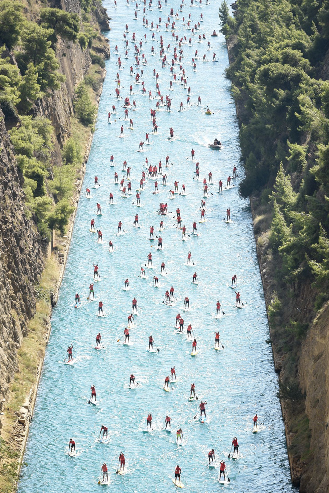 2018 corinth canal sup crossing 3