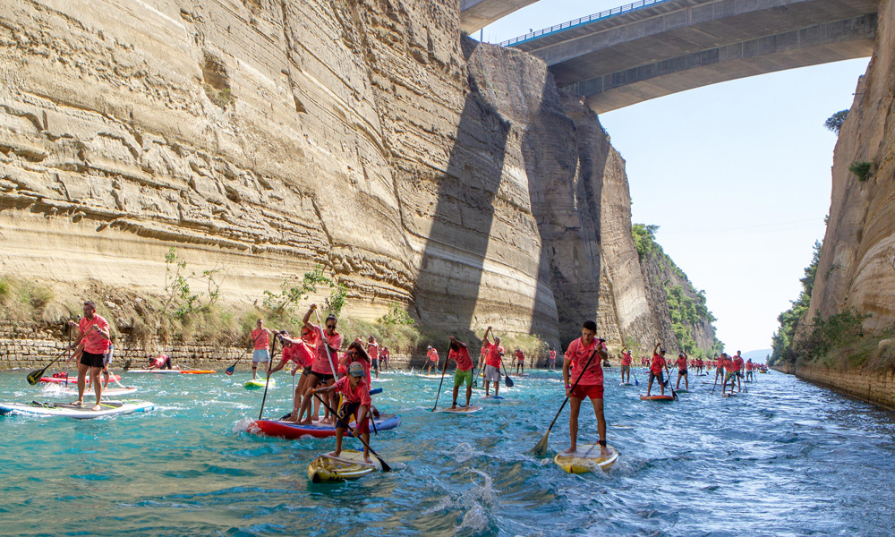 2018 corinth canal sup crossing 4