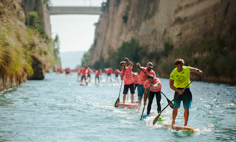 2018 corinth canal sup crossing 6
