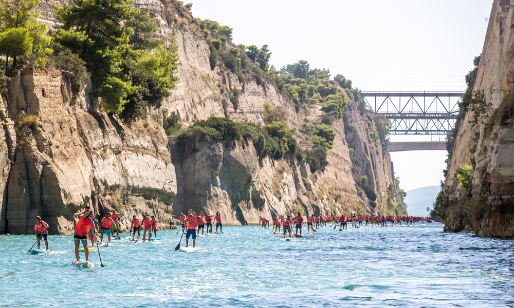 2018 corinth canal sup crossing 7