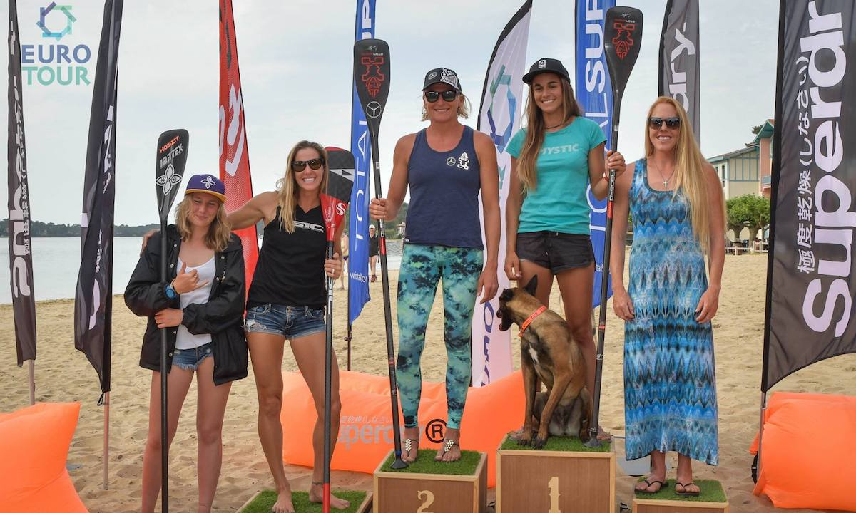 hossegor paddle games 2017 ladies