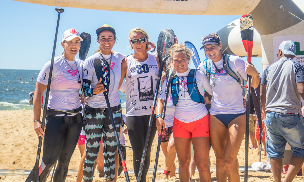 Event Disorganization Taints Intense Competition in Hossegor 5