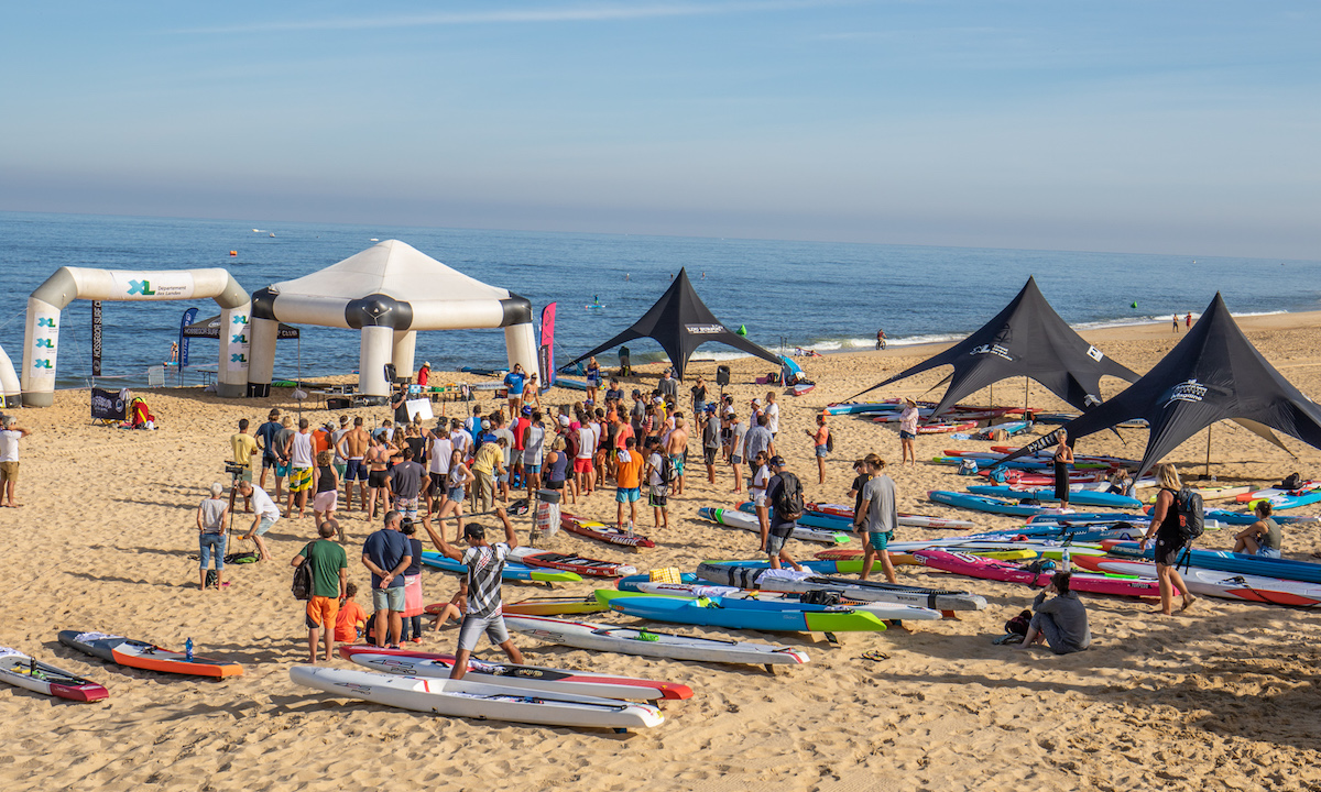 Event Disorganization Taints Intense Competition in Hossegor 8