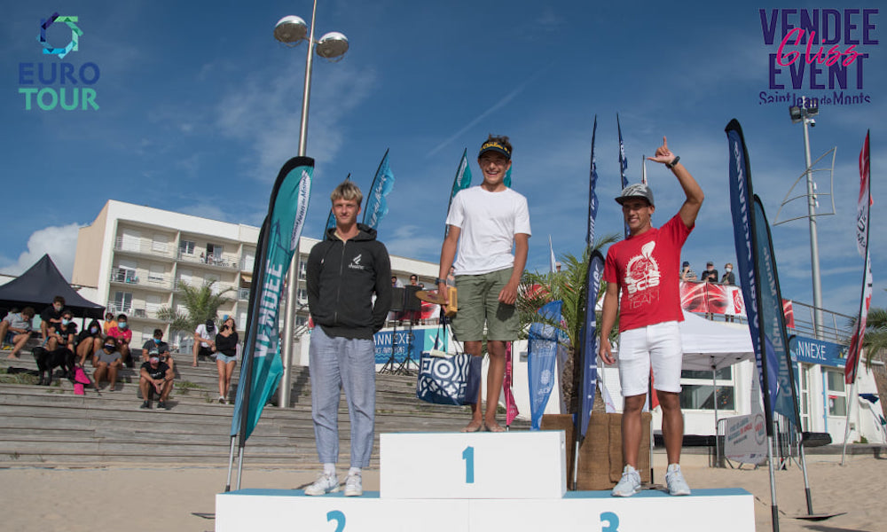 vendee gliss 2020 junior boy podium