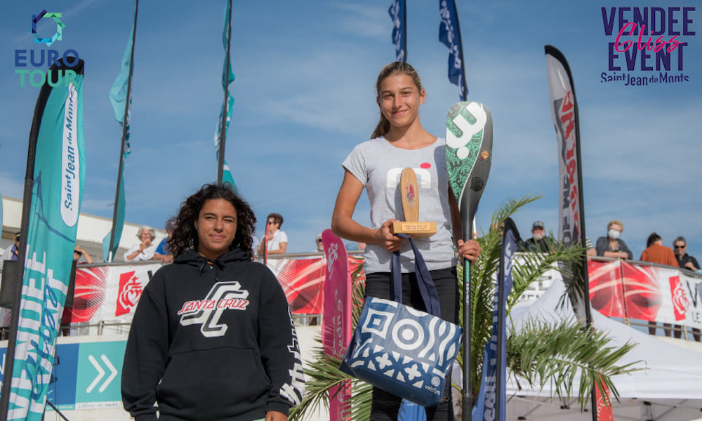 vendee gliss 2020 junior girl podium