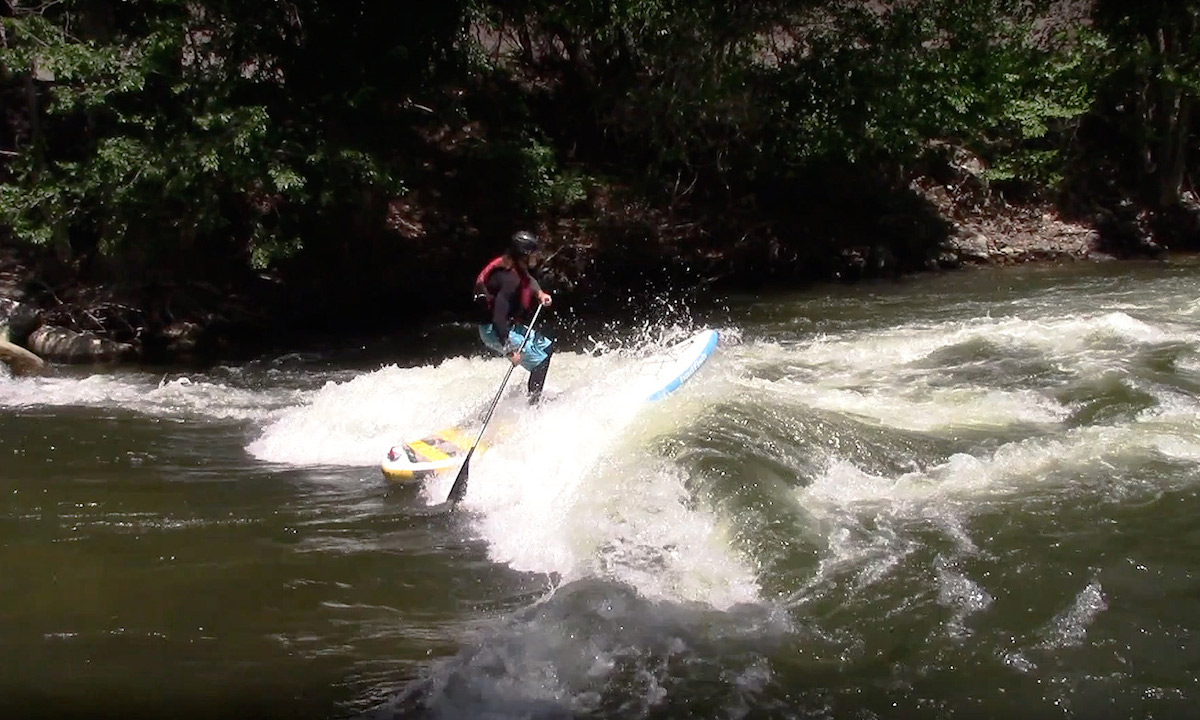 how to punch through river wave