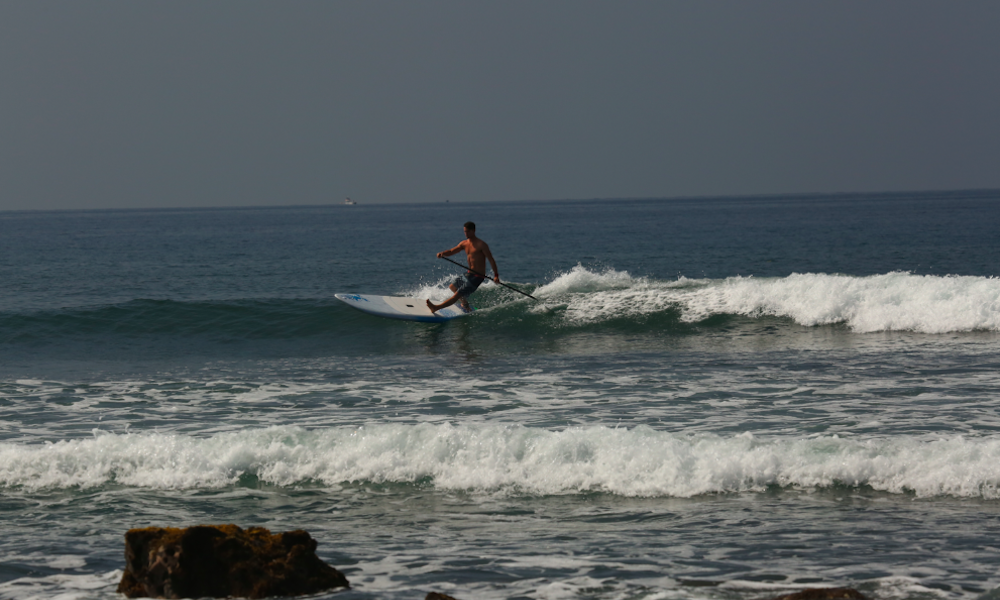 sup frontside cutback paddle transition 2