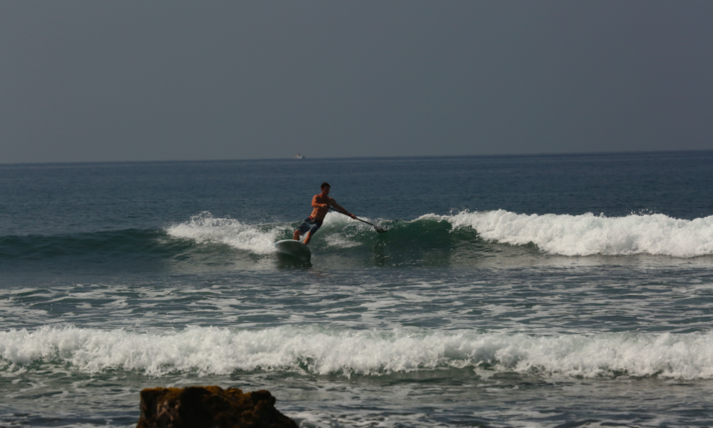 sup frontside cutback paddle transition 3