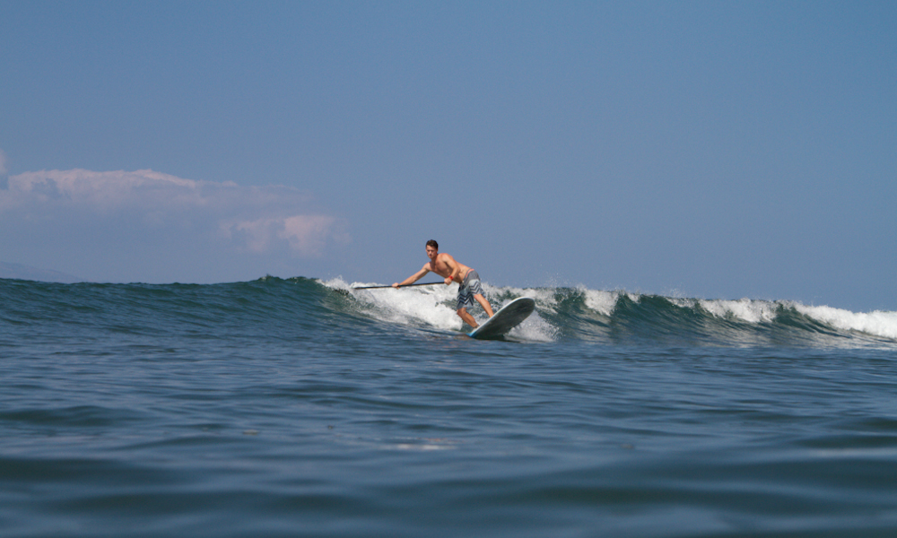 sup frontside cutback speed
