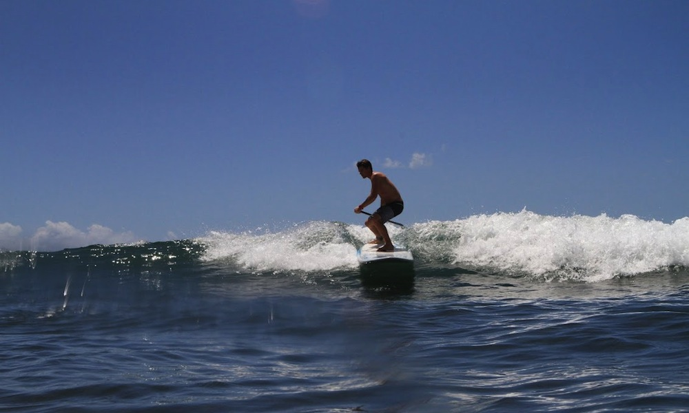 frontside top turn paddle board 3