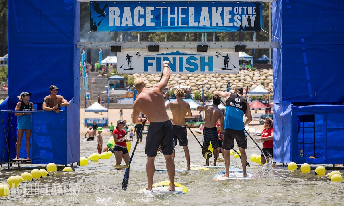 2015 race the lake finish