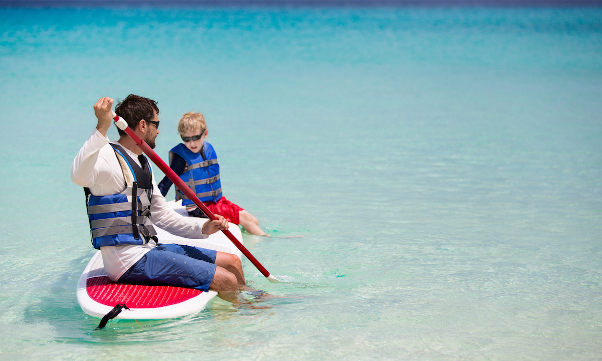 how to get kids interested in sup safety