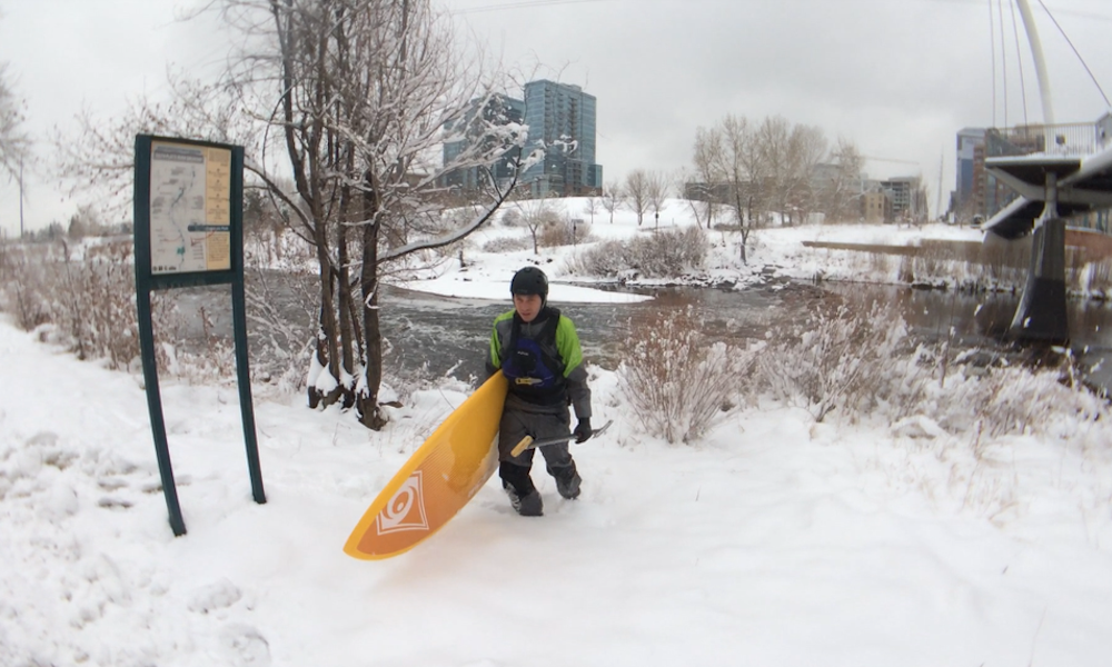 cold water paddling how to layer