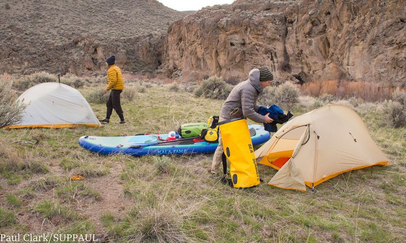 how to camp with sup 3