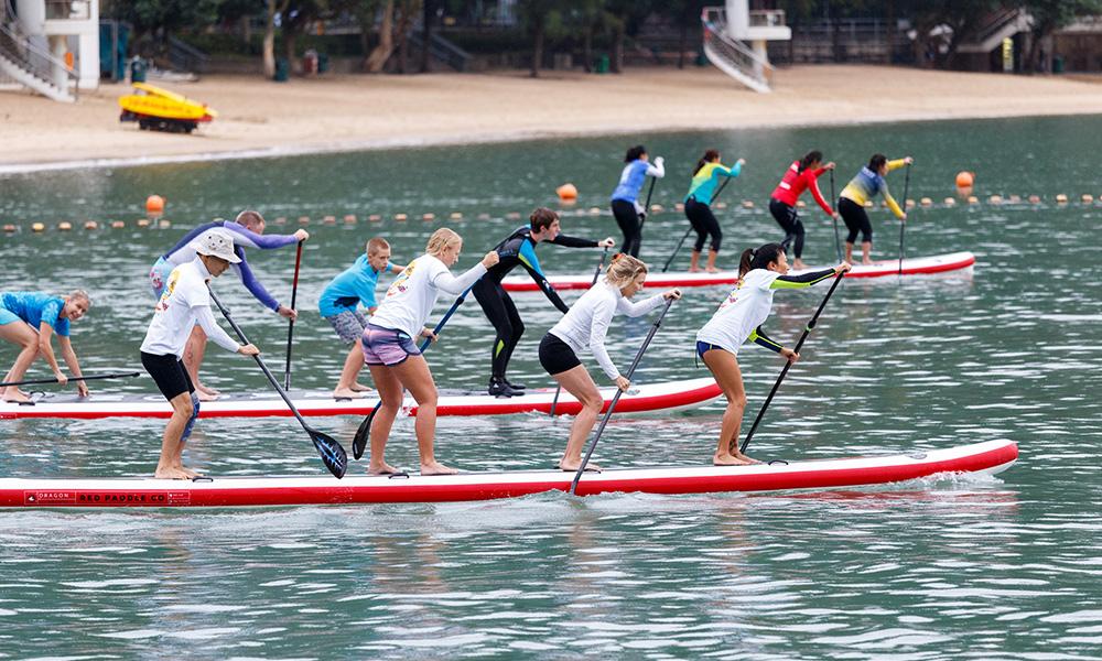 group sup fun race