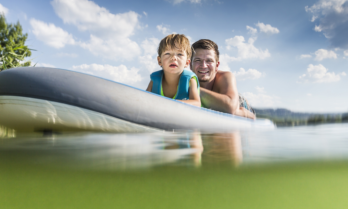 how to keep kids safe on sup