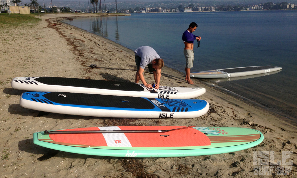 inflatables vs hard paddle boards 1