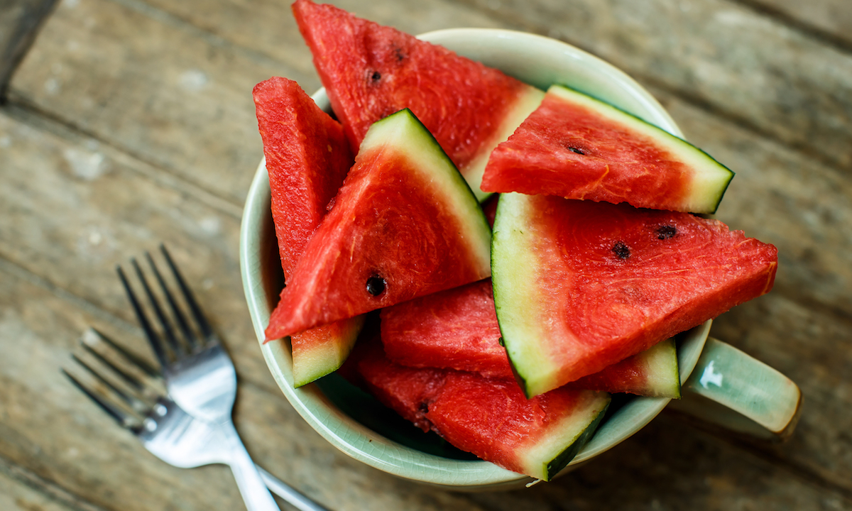 sup summer nutrition watermelon