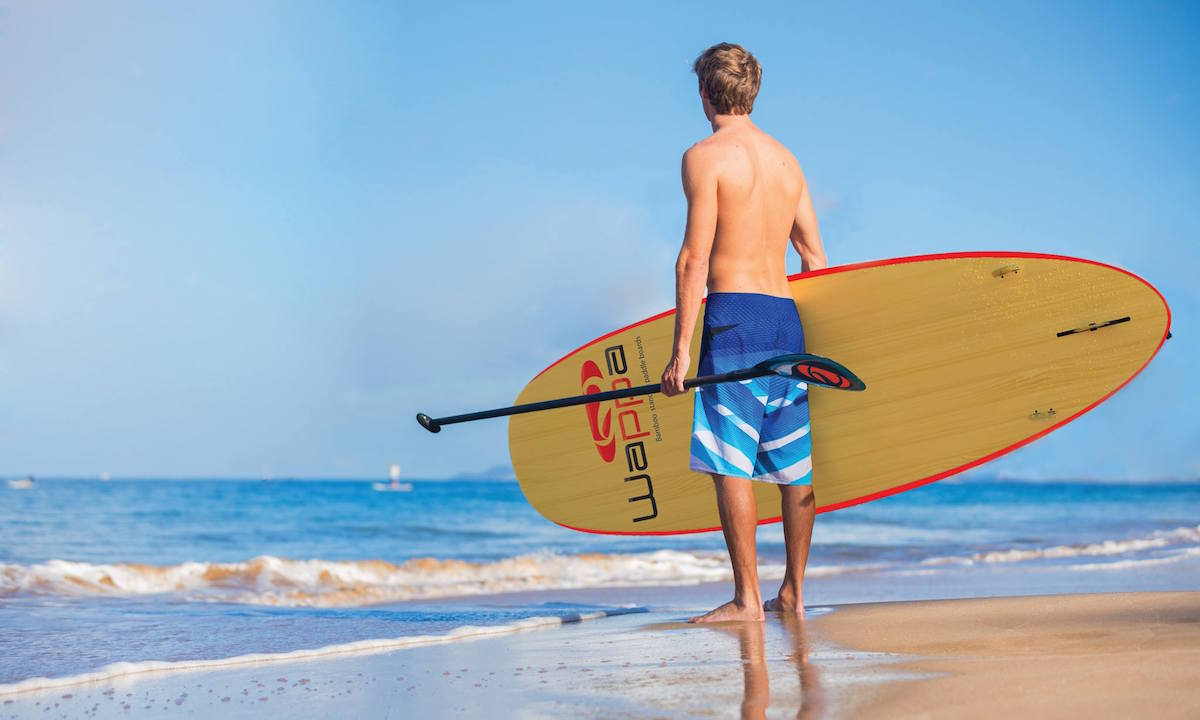 what makes a quality sup wappa paddle board