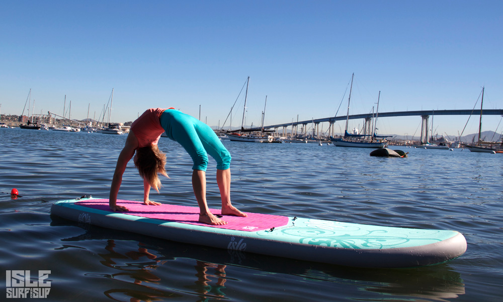 10 sup yoga poses beginner full wheel