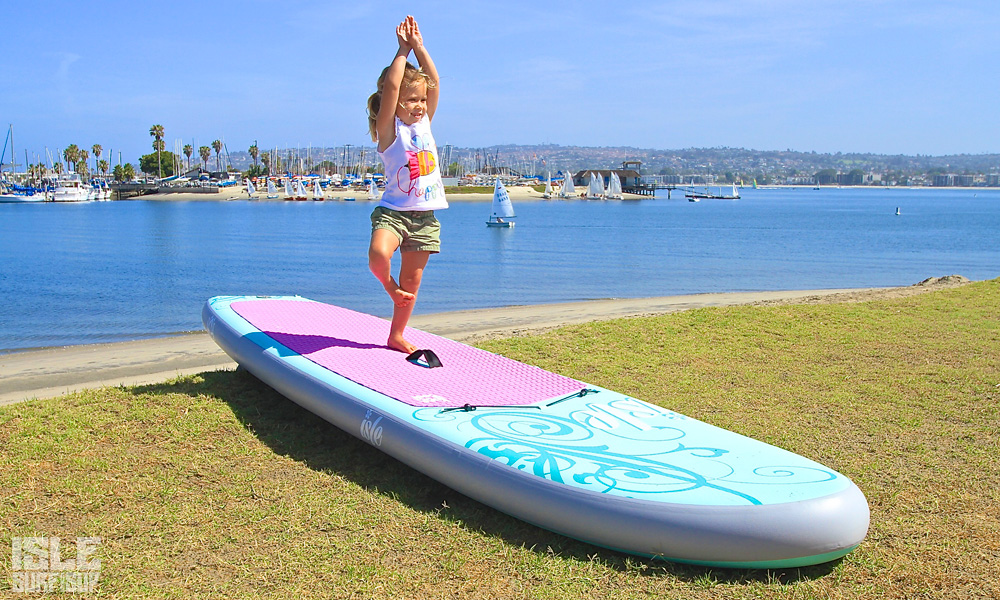 10 sup yoga poses beginner kid