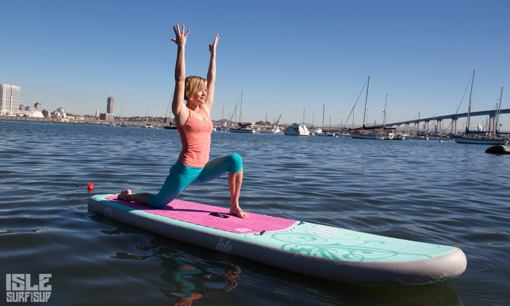 10 sup yoga poses beginner modified crescent lunge