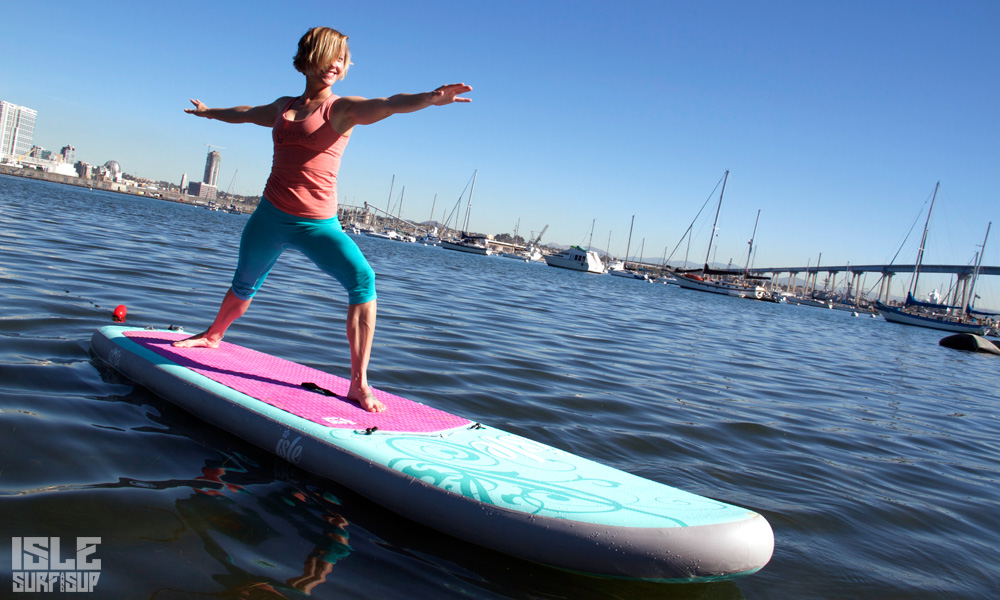 10 sup yoga poses beginner warrior 2