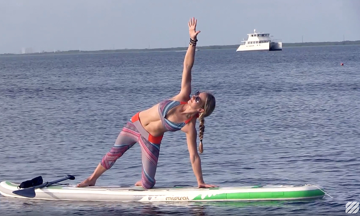 beginner guide to sup yoga seychelle