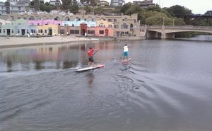 Ben_and_Jay_lagoon_start_Coverwater_Classic
