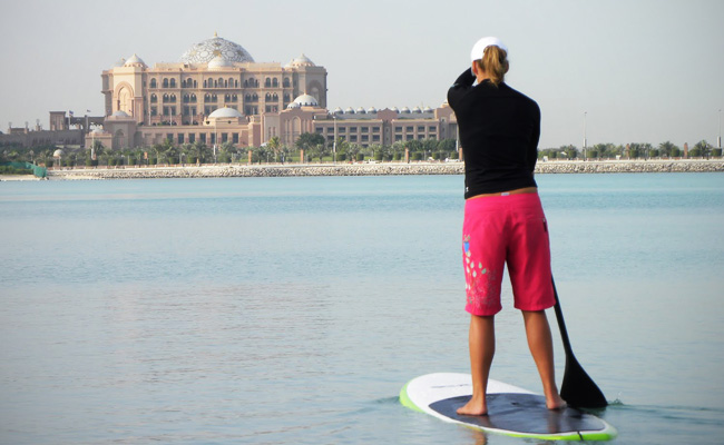 Stand Up Paddle Board in Abu Dhabi