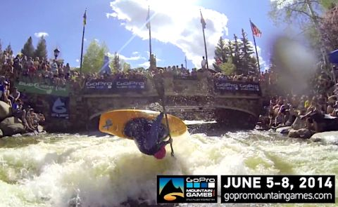 GoPro Mountain Games SUP Races In Vail, Colorado