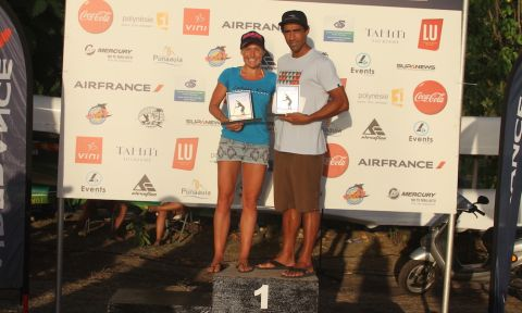 The Elite Race Winners at the Air France Paddle Festival. | Photo: Supconnect