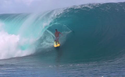 Capturing The Ultimate Stand Up Paddling Shot In Tahiti