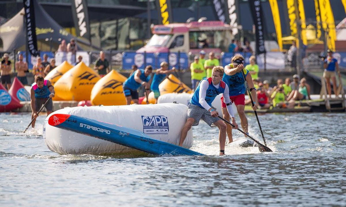 2018 London SUP Open. | Photo Courtesy: APP World Tour