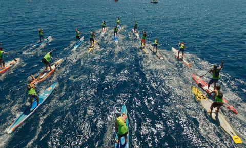2016 Noli SUP Race. | Photo Courtesy: Euro SUP Tour