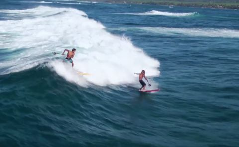 SUP In Hawaii With Kai Lenny & Airton Cozzolino