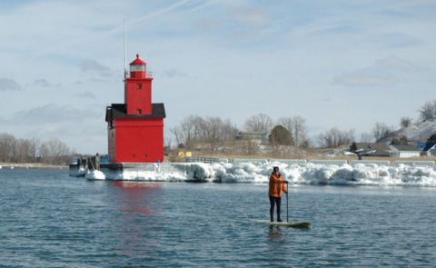 Paddle Boarding Michigan