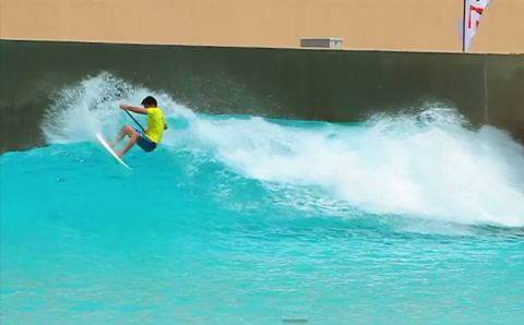 Mo Freitas Ripping In Abu Dhabi Video