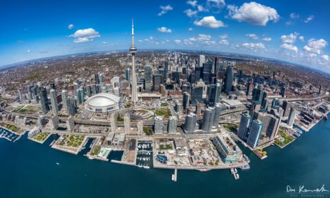 Toronto, Canada from above. | Photo: Don Komarechka