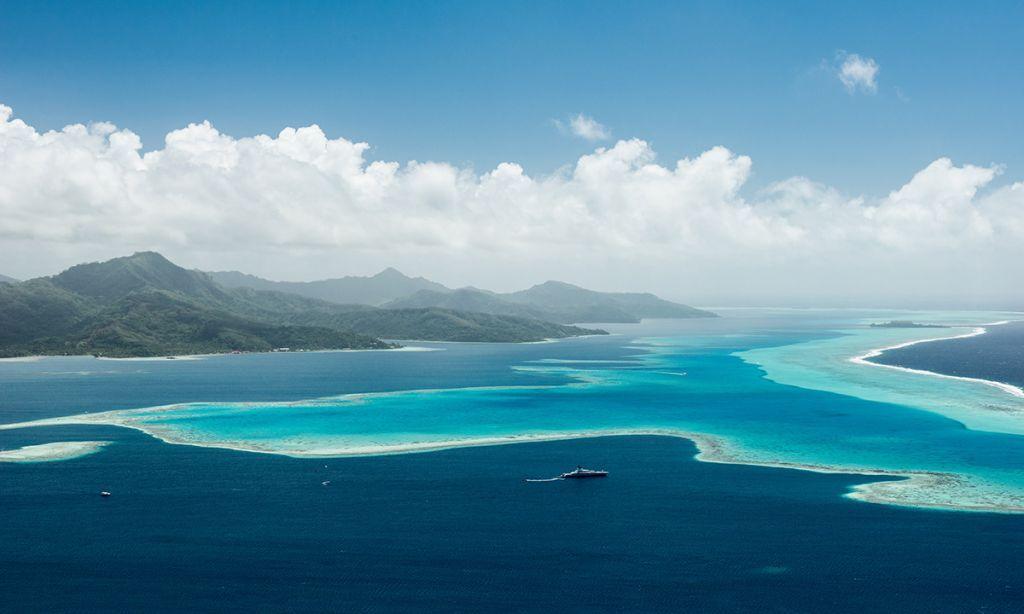 Paddle Boarding Raiatea, French Polynesia