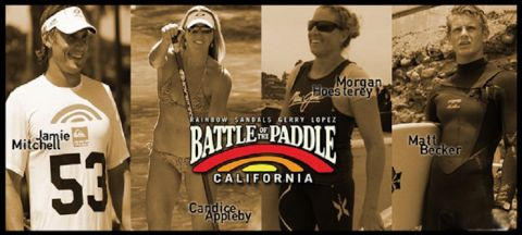Surftech Team Prepares for Battle of the Paddle