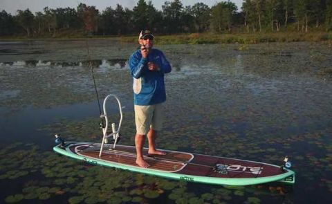 Facts Of Fishing - On A SUP