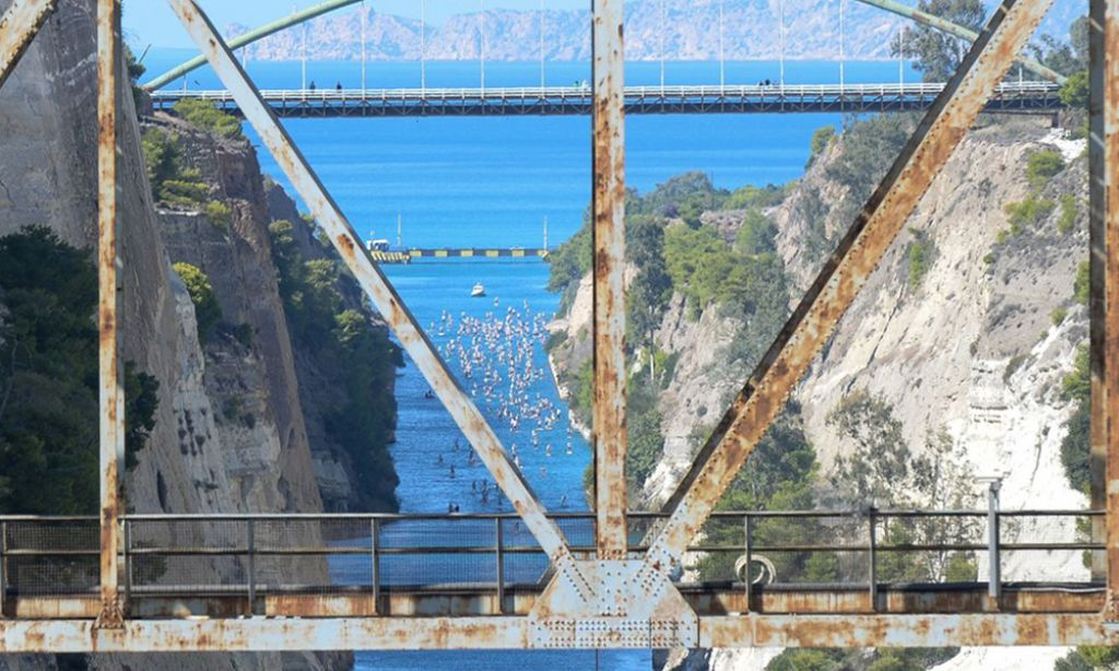 Photo Courtesy: Corinth Canal SUP Crossing 2017
