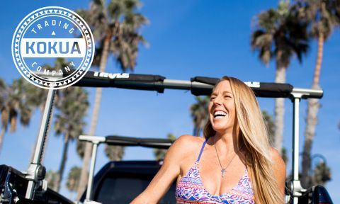 Kokua Trading Co. welcomes Infinity SUP athlete Candice Appleby to the team. | Photo courtesy: Kokua Trading Co.