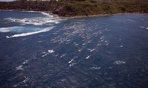 International Paddlers Gathering for 9th Annual OluKai Ho'olaule'a