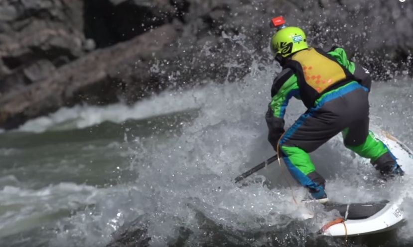 Montana Rooted: Chasing Waves On The Alberton Gorge