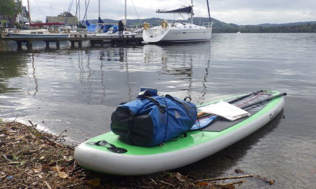 Second Stand Up Paddler Completes 3 Lakes Challenge, Solo & Unsupported