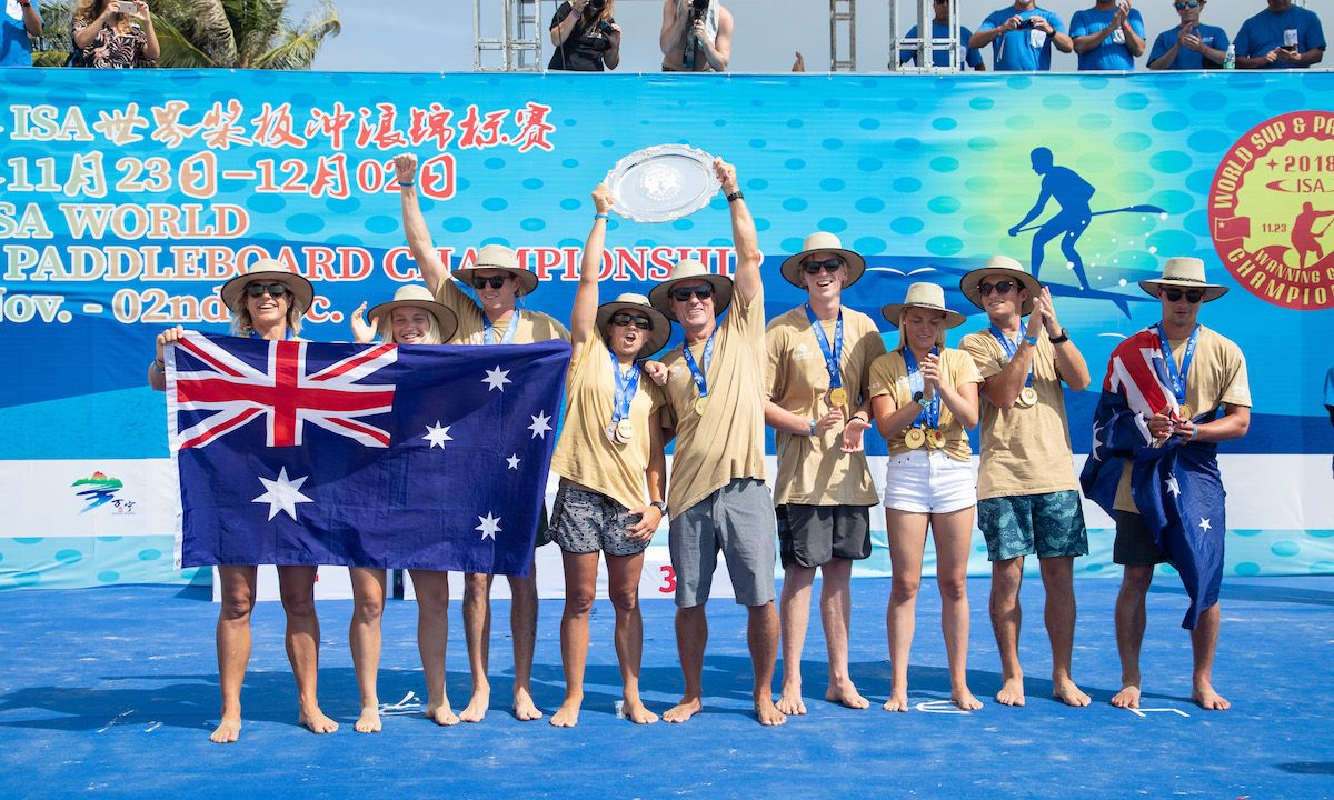 Six Golds in seven year for Australia - true SUP and Paddleboard dominance. | Photo: ISA / Pablo Jímenez